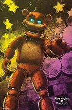 FIVE NIGHTS AT FREDDY'S - CLASSIC FREDDY POSTER - 22x34 VIDEO GAME 14808