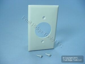 """Leviton Gray 1.60"""" Receptacle Wallplate 20A 30A Locking Outlet Cover 80720-GY"""
