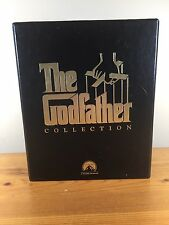 The Godfather Collection Trilogy Vhs 6 Tape Set 1997 I Ii Iii Pacino Brando