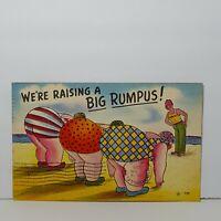 Vintage Comic Humor Postcard 1960s