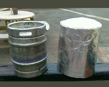Insulated 50 litre (11 Gallon) Keg Jacket & 2 x Ice Sheet Cover Beer Keg Cooling