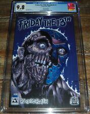 Friday the 13th #1 CGC 9.8 Avatar Press Comics Blue Foil Variant Ltd 100