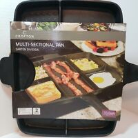 Crofton Multi-Sectional Pan, Cook 5 Different Foods At The Same Time Aluminum