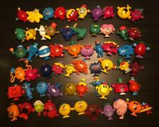 Mr. Men And Little Miss Figures McDonalds Happy Meal Toy FULL SET