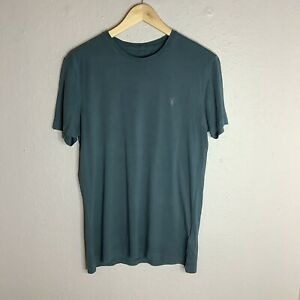 ALLSAINTS T-Shirt Mens Green Casual Tee Size Small