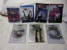 Saw 1-6 DVD's and Movies GRINDCORE blu ray Death Kill Horror Movie Halloween
