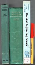 3 Books ALTERNATING CURRENTS L T Agger ELECTRICAL ENGINEERING Technology Science