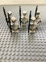 STAR WARS Clone Troopers Lot Of 5 Custom Clone SHIPS FROM US SELLER