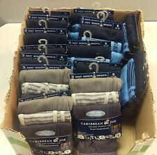 Wholesale Lot of 15 Caribbean Joe Men's 3 Pack Knit Boxer Briefs SZ S (28 - 30)