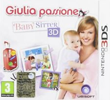 Giulia Passione Baby Sitter 3d Nintendo 3ds Ubisoft