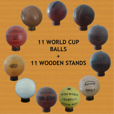 Official World Cup Footballs Collection 1930 to 1966 (11 Balls 11 holders)