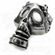 Asphyxia Gas Mask Ring Size 12 Alchemy Gothic Metalwear Gothic Ring
