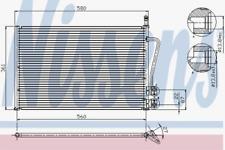 Condenseur, climatisation pour climatisation NISSENS 94587