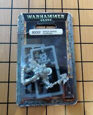 40k Rare oop Blister Metal Space Marine Blood Angel Death Company Chaplain NIB