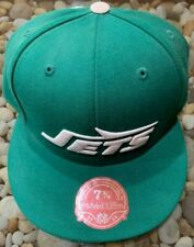 VINTAGE MITCHELL & NESS NY JETS FITTED HAT GREEN