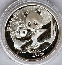 Cina 10 Yuan 2005 ORSO PANDA  @ 1 oncia argento puro @