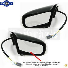 87-93 Mustang Outside Exterior POWER Door Mirror Housing Assembly - LH & RH PAIR