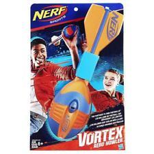 NERF Vortex Aero Howler Flying Football Orange & Navy