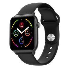 Smartwatch KW37 Bluetooth W. R. IP68 Benachrichtigungen Cardio Fitness Ios Black
