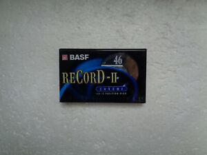Vintage Audio Cassette BASF Record-II 46 * Rare Japanese Duration 1997 *