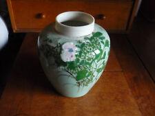Pot à thé ou pinceaux celadon chinois - Old Chinese celadon jar porcelain