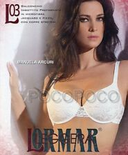 BALCONETTE BRA PADDED UNDERWIRE B CUP and C LORMAR ART. L03