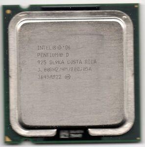 Pentium D925 3GHz 4M 800MHz socket 775
