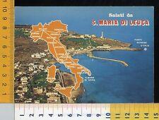 38956]  LECCE - SALUTI DA SANTA MARIA DI LEUCA - PANORAMA
