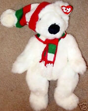 "Ty Plush 1997 Christmas ""Holiday Bear"" Retired Style #5700 Mwmt! Large Plush"