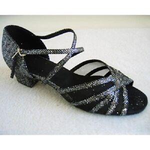 Ladies Dance Shoes Line Latin Salsa Jive UK Size 3 3.5 4 4.5 5 5.5 6 6.5 7 7.5 8