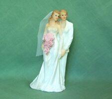 OOAK SALE 40% OFF Lesbian Brides Wedding Figurine-White tux/Strapless Gown