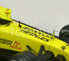 2003 Giancarlo Fisichella Jordan EJ13 1:18 Full B&H Livery Mattel Hot Wheels