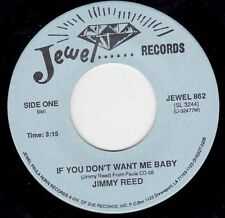 "JIMMY REED - If You Don't Want Me Baby 7"" 45"