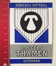 Aufkleber/Sticker: Honkbal Softbal - Raggers Thamen - Uithoorn (21031663)