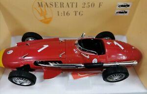 Tonka Polistil Maserati 250F 1:16 TG Made in Italy. Red colour.