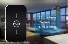 Bluetooth 2 in 1 Audio Transmitter + Receiver TV Music Sound Wireless + Battery