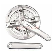 Shimano FC-M171 6/7/8 Speed Square Taper Crankset 48-38-28T MTB Bike Silver