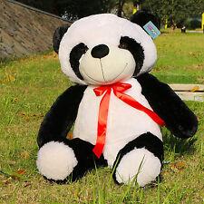 "Joyfay 39"" 100cm Giant  Panda Bear Huge Stuffed Plush Animal Toy Valentines Gift"