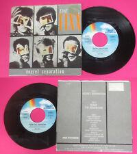 LP 45 7'' THE FIXX Secret separation Sense 1986 italy MCA 25 8687-7 cd mc dvd