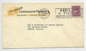 Advert. Cover HYGRADE CORRUGATED PRODUCTS London, ON. - with slogan Circa H-525