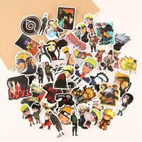 50pcs Anime Stickers Sasuke Decals For Skateboard Car Luggage Laptop Hot Ccl
