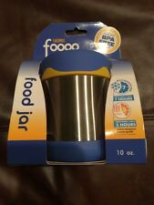 Thermos Foogo Leak-Proof Stainless Steel 10-Ounce Food Jar, Blue