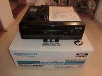 Pioneer CLD-D925 High-End LaserDisc Player, OVP, FB&BDA, neuwertig, 2J. Garantie