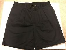 Dickies Men's Casual Fit Pleated Navy Work Shorts, NWT, Size 38