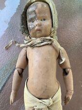 schoenhut doll wood