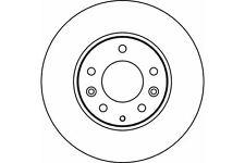 MDC1664 MINTEX Brake Disc front PAIR