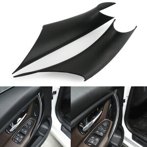 For BMW 3/4 Series F30 F35 Inner Door Pull Handle Protect Case Inside Cover 2pcs