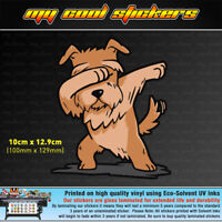 Dabbing Dog Vinyl Sticker Decal, 4X4 Ute Car Truck funny meme JDM Drift race dab