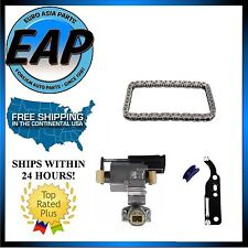 For Audi A4 A6 Allroad S4 VW Passat Left Timing Tensioner w/ Gasket and Chain
