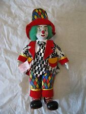 "Porcelain Clown 14"" Doll - Show Stoppers Inc ""Nilly"""
